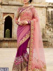 Exclusive Fancy Party Wear Designer Replica Saree