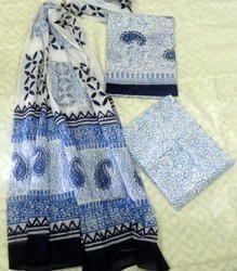 Aaditri Cotton Materials Chiffon Dupatta Suit
