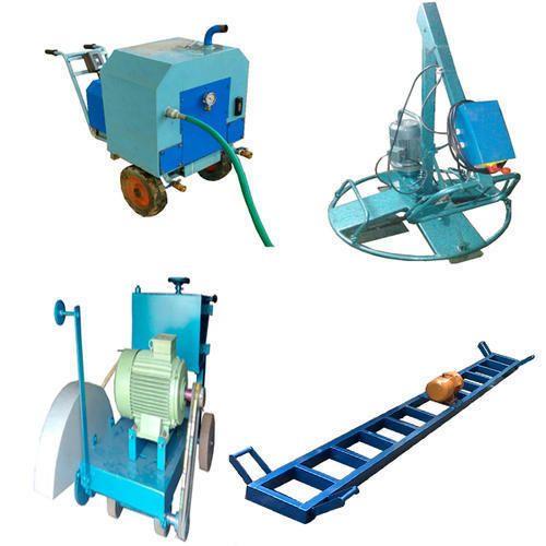 Trimix Flooring Services : Trimix flooring machine and dewatering mud pump