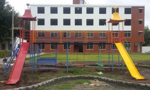 School Playground Slides