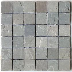 kandla Grey sandstone wall cladding mosaic tiles