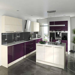Laminted High Gloss Kitchen