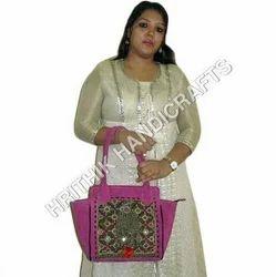 Vintage Rajasthani Banjara Leather Bag