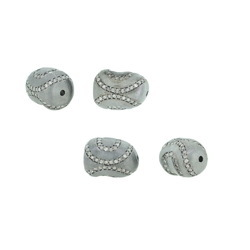 Natural Diamond Pave Beads