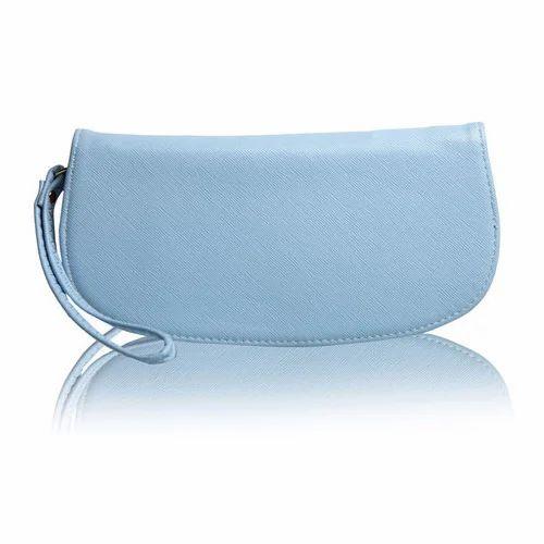 Ladies Wallets - Women Blue PU Zipper Wallet Manufacturer from Delhi 458181475ac68