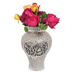 Silver flower pot manufacturer from mumbai silver flower pot mightylinksfo