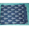 Blue Printed Cotton Quilt
