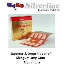 Nicotex 4Mg Chewing Gum