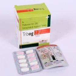 Glimperide 2 Mg Metformin 500 Mg Voglibose 0.2 mg