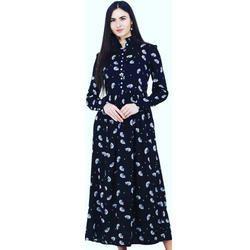 Ladies Black Gown