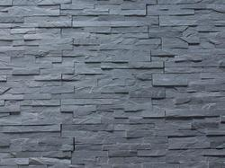 Black Slate Stone Wall Panel / Cladding Tiles