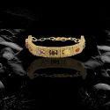 Navratan Bracelet Golden Plated For Mens/Boys All Occasions
