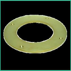 Trim Ring For Flue Pipe (brass)
