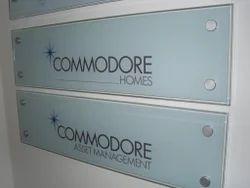 Company Name Board