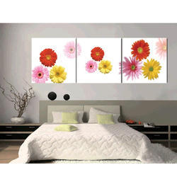 Flower Glass Painting