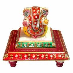 Marble Choki Ganesha