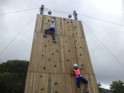Climbing Wall For Adventure Park
