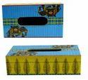 Custom Wooden Tissue Box