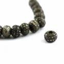 Pave Diamond Beads