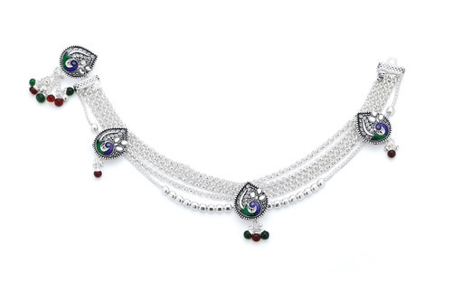 Heavy Sterling Silver Anklets