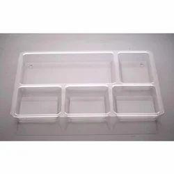 Polycarbonate Plate Bhojan Thali