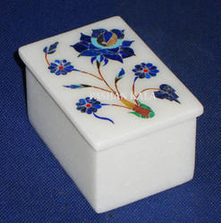 Gemstone Marble Box