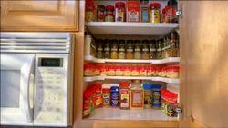 Kawachi Spicy Shelf Spice Rack Stackable Kitchen Organizer