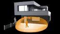 Outdoor KNX Home Security Motion Sensor
