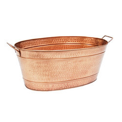 Copper Hammered Party Tub NJO-1645