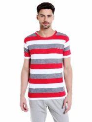 Casual Yarn-dyed T Shirt
