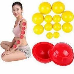 Silicone Rubber Cupping Ball Set