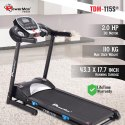 Powermax TDM-115S Motorised Treadmill with Semi-Auto Lubrication