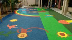 Garden Rubber Flooring