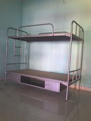 Steel Bunk Bed With Bottom Storage