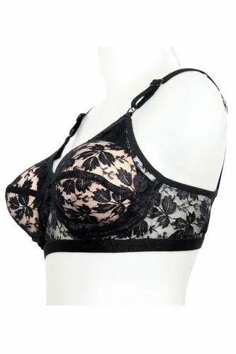 be98536d92528 Fancy Bridal Bra - Ben Comm Lace Net Transparent Pocket Bra With ...