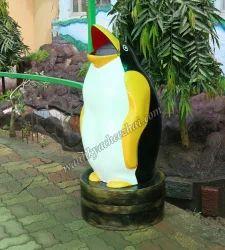Penguin Shape Dustbin