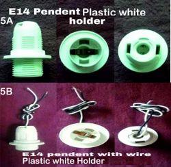 E14 Pendant Holder Plastic 5A,5B