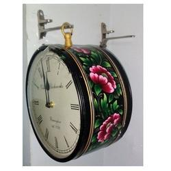 Hand Painting Station Clock