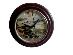 Wooden Round Wall Clock