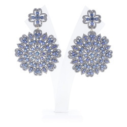 925 Sterling Silver Gemstone Earrings