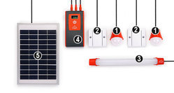 D.light D333 Solar Light Home System