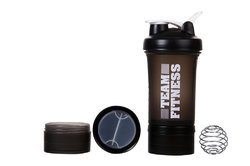 Easy Stack Black Shaker Bottles