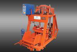 Manual Operated Concrete Block Machine