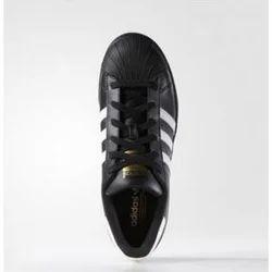 Adidas Superstar Black White Stripes