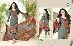 V Neck Essenza Salwar Suit Fabric