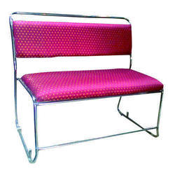 Pink Two Seater Sofa