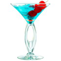 Bow Martini Glass