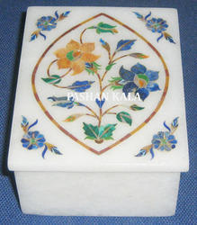 Marble Inlay Design Decorative Box