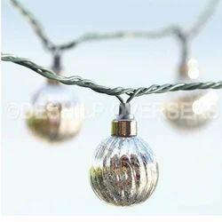 Silver Ball Ornaments
