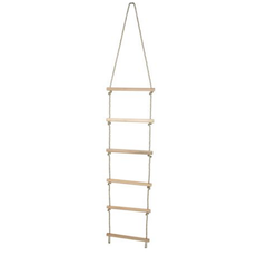 Rope Ladder with Wooden Rags